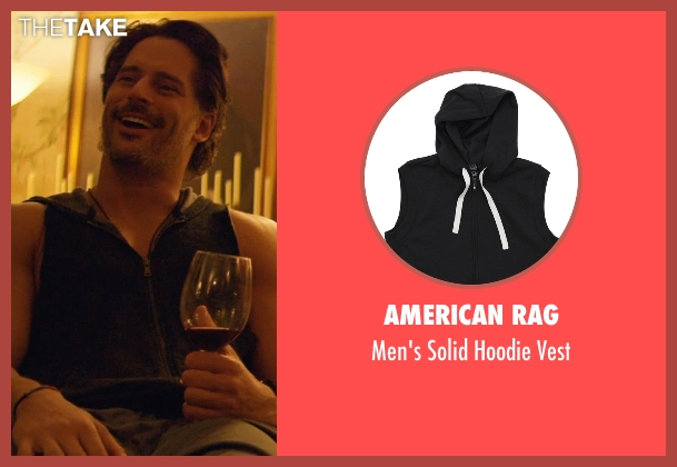 American Rag vest from Magic Mike XXL seen with Joe Manganiello (Big Dick Richie)