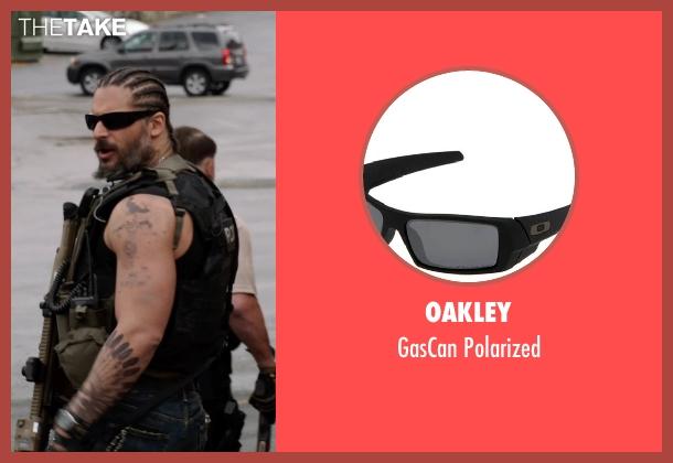 Oakley black polarized from Sabotage seen with Joe Manganiello (Joe 'Grinder' Phillips)