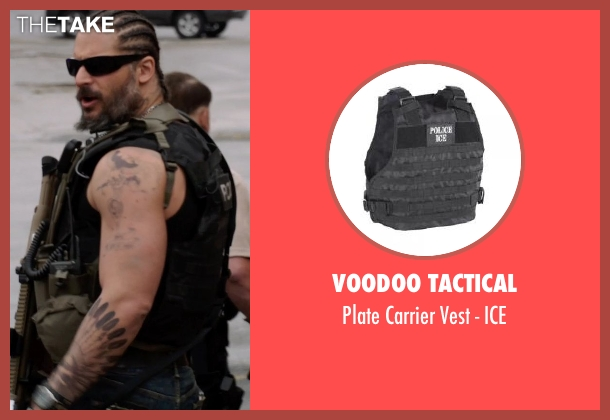 Voodoo Tactical ice from Sabotage seen with Joe Manganiello (Joe 'Grinder' Phillips)