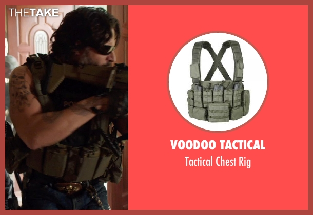 Voodoo Tactical rig from Sabotage seen with Joe Manganiello (Joe 'Grinder' Phillips)