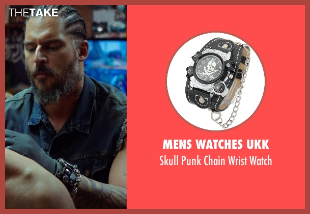 Mens watches ukk watch from Sabotage seen with Joe Manganiello (Joe 'Grinder' Phillips)