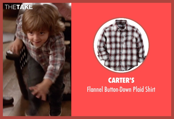 Carter's red shirt from Modern Family seen with Joe Pritchett (Jeremy Maguire)