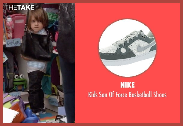 Nike white shoes from Modern Family seen with Joe Pritchett (Jeremy Maguire)