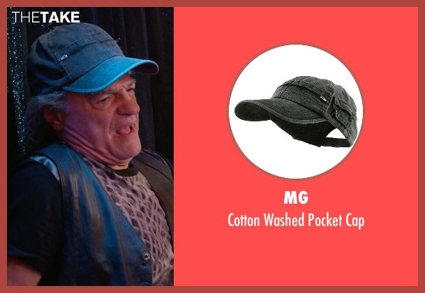 MG black cap from Ricki and the Flash seen with Joe Vitale (Joe)