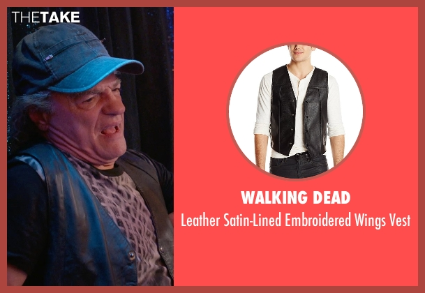 Walking Dead black vest from Ricki and the Flash seen with Joe Vitale (Joe)