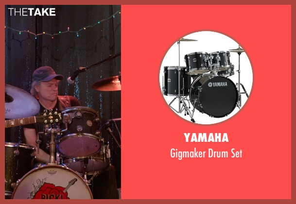 Yamaha set from Ricki and the Flash seen with Joe Vitale (Joe)