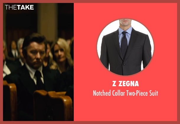 Z Zegna black suit from Black Mass seen with Joel Edgerton (John Connolly)