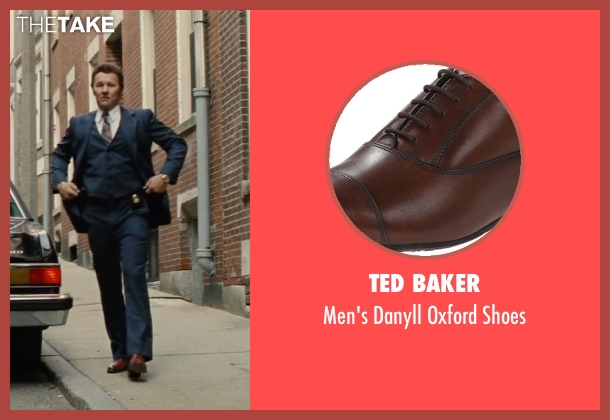 Ted Baker brown shoes from Black Mass seen with Joel Edgerton (John Connolly)