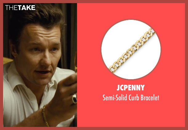 JCPenny gold bracelet from Black Mass seen with Joel Edgerton (John Connolly)