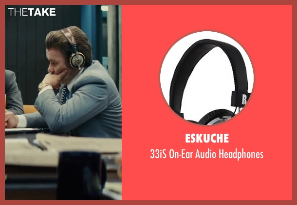 Eskuche headphones from Black Mass seen with Joel Edgerton (John Connolly)