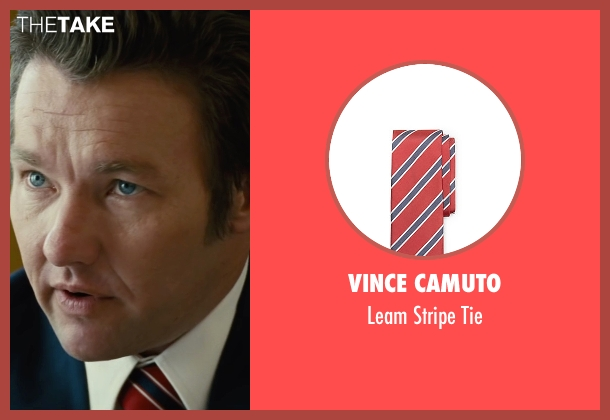 Vince Camuto red tie from Black Mass seen with Joel Edgerton (John Connolly)