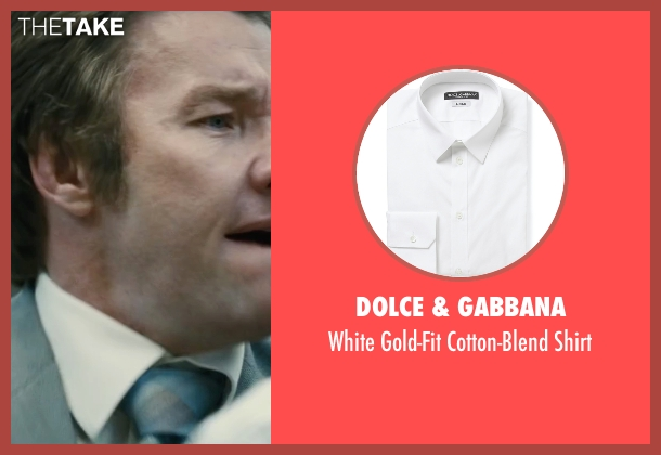 Dolce & Gabbana white shirt from Black Mass seen with Joel Edgerton (John Connolly)