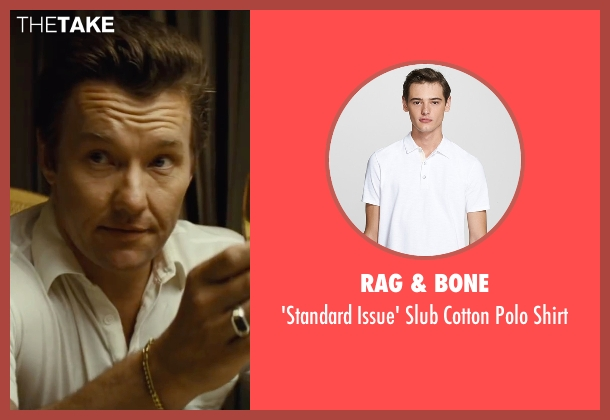 Rag & Bone white shirt from Black Mass seen with Joel Edgerton (John Connolly)