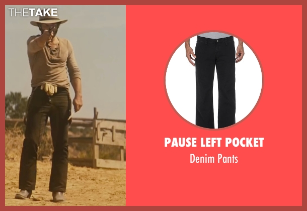 Pause Left Pocket black pants from Jane Got A Gun seen with Joel Edgerton (Dan Frost)