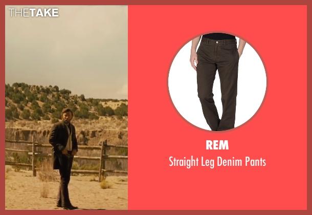 Rem brown pants from Jane Got A Gun seen with Joel Edgerton (Dan Frost)