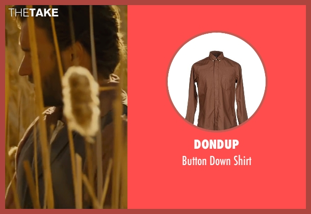 Dondup brown shirt from Jane Got A Gun seen with Joel Edgerton (Dan Frost)