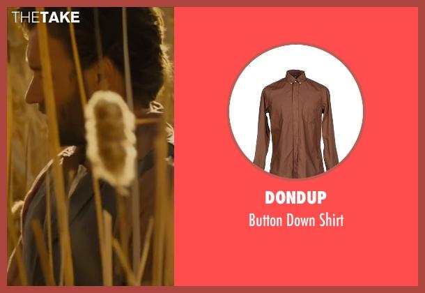Dondup brown shirt from Jane Got A Gun seen with Joel Edgerton (Dan Frost)