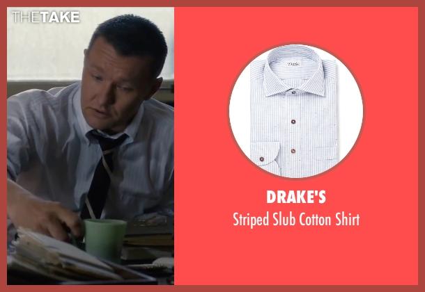 Drake's white shirt from Life seen with Joel Edgerton (John Morris)