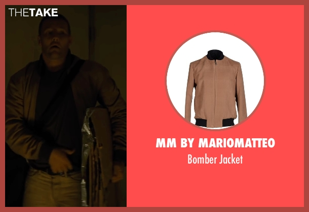 MM By Mariomatteo brown jacket from Midnight Special seen with Joel Edgerton (Unknown Character)
