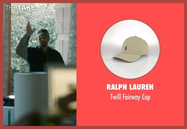 Ralph Lauren beige cap from The Gift seen with Joel Edgerton (Unknown Character)