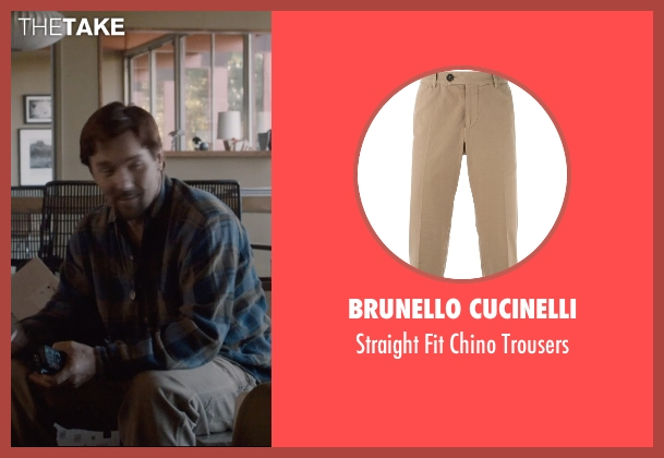 Brunello Cucinelli beige trousers from The Gift seen with Joel Edgerton (Gordo)