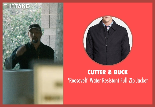 Cutter & Buck black jacket from The Gift seen with Joel Edgerton (Gordo)