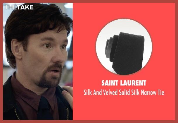 Saint Laurent black tie from The Gift seen with Joel Edgerton (Gordo)