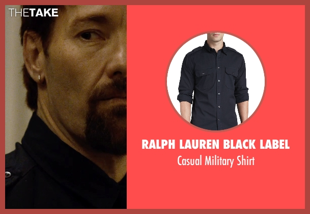 Ralph Lauren Black Label blue shirt from The Gift seen with Joel Edgerton (Unknown Character)