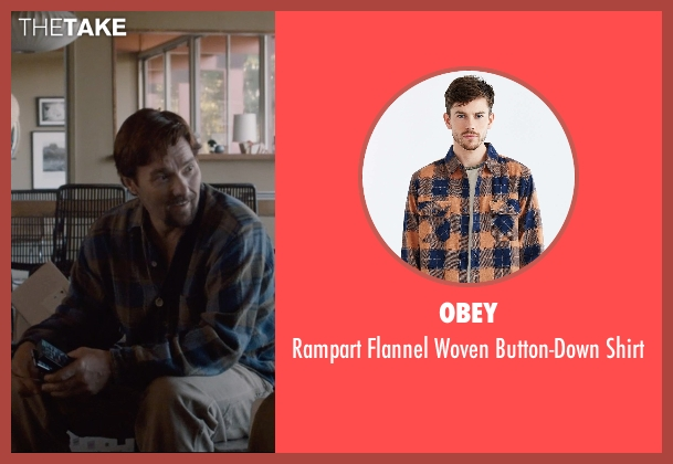 Obey brown shirt from The Gift seen with Joel Edgerton (Gordo)