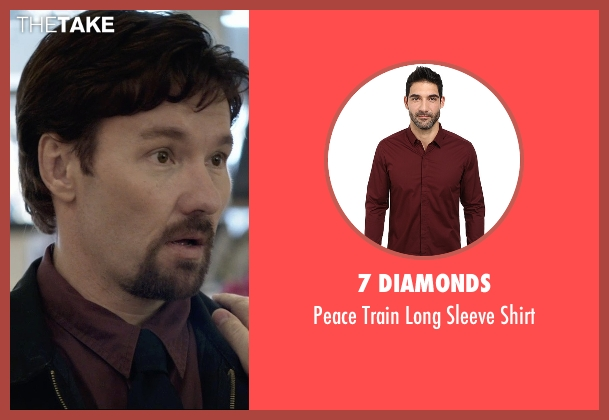 7 Diamonds red shirt from The Gift seen with Joel Edgerton (Gordo)