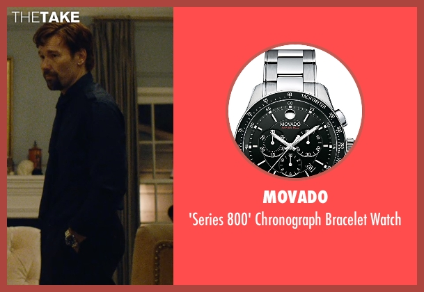 Movado silver watch from The Gift seen with Joel Edgerton (Unknown Character)