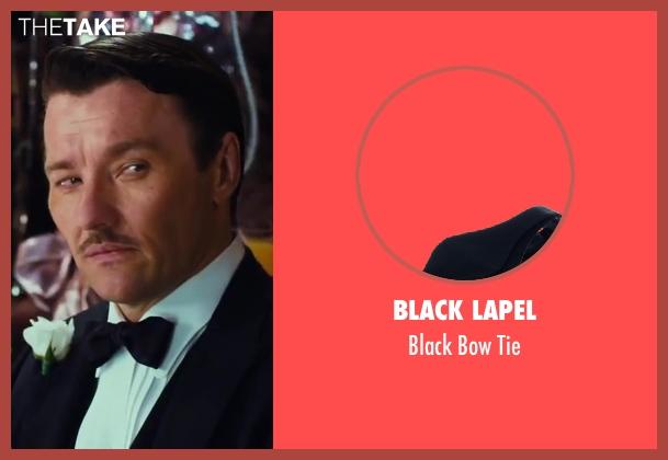 Black Lapel black tie from The Great Gatsby seen with Joel Edgerton (Tom Buchanan)