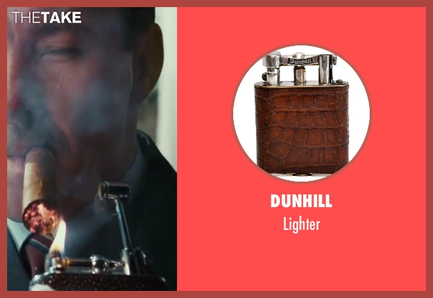 Dunhill lighter from The Great Gatsby seen with Joel Edgerton (Tom Buchanan)