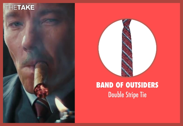 Band of Outsiders red tie from The Great Gatsby seen with Joel Edgerton (Tom Buchanan)