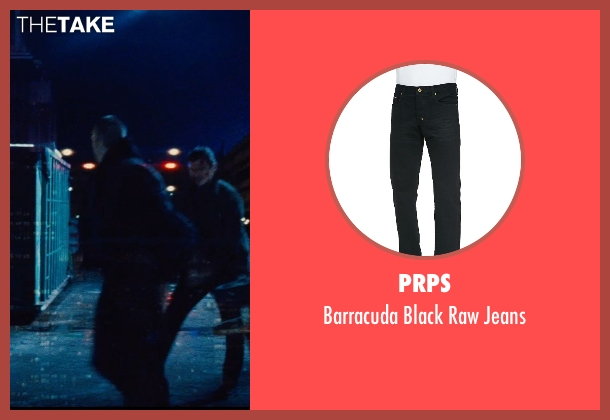 PRPS black jeans from Run All Night seen with Joel Kinnaman (Mike Conlon)