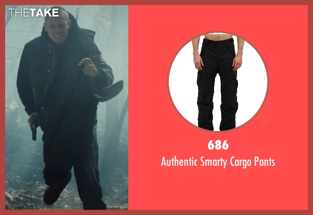 686 black pants from Run All Night seen with Joel Kinnaman (Mike Conlon)