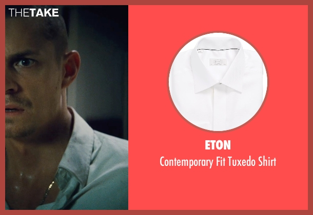 Eton white shirt from Run All Night seen with Joel Kinnaman (Mike Conlon)