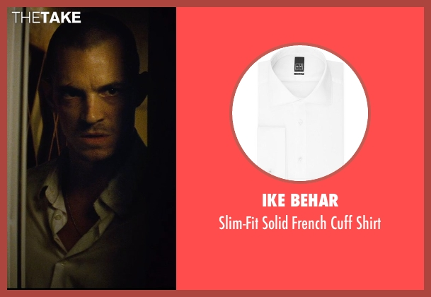 Ike Behar white shirt from Run All Night seen with Joel Kinnaman (Mike Conlon)