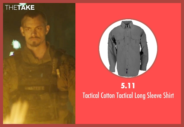 5.11 green shirt from Suicide Squad seen with Joel Kinnaman (Rick Flag)