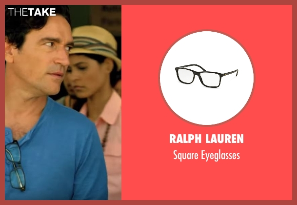 Ralph Lauren eyeglasses from Mad Dogs seen with Joel (Ben Chaplin)