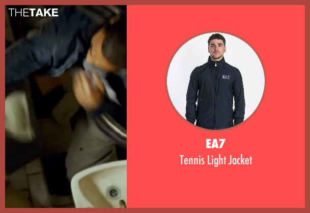 EA7 blue jacket from The Bourne Ultimatum seen with Joey Ansah (Desh)