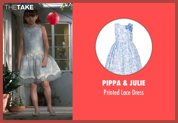 Pippa & Julie  blue dress from Crazy, Stupid, Love. seen with Joey King (Molly)