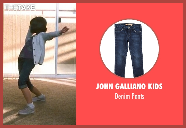 John Galliano Kids blue pants from Crazy, Stupid, Love. seen with Joey King (Molly)