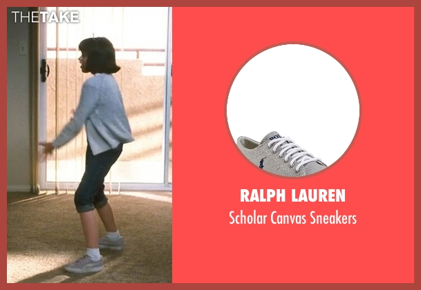 Ralph Lauren gray sneakers from Crazy, Stupid, Love. seen with Joey King (Molly)