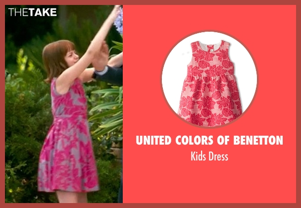 United Colors of Benetton pink dress from Crazy, Stupid, Love. seen with Joey King (Molly)