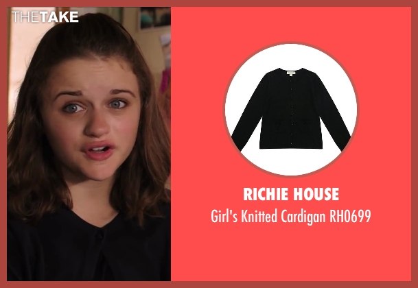 Richie House black rh0699 from Wish I Was Here seen with Joey King (Grace Bloom)