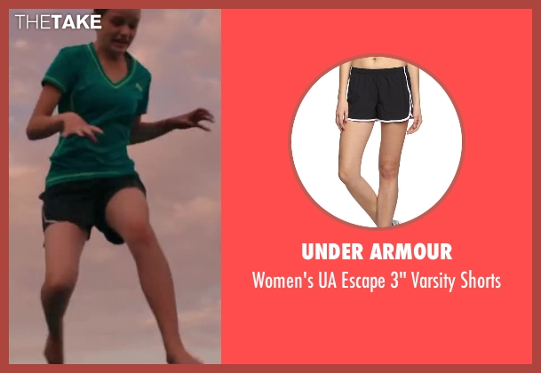 Under Armour black shorts from Wish I Was Here seen with Joey King (Grace)