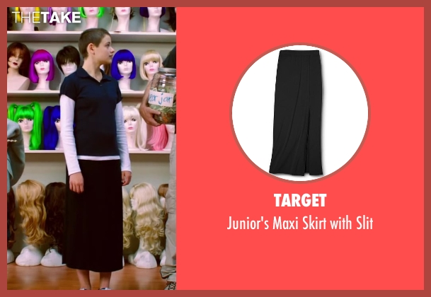 Target black slit from Wish I Was Here seen with Joey King (Grace)