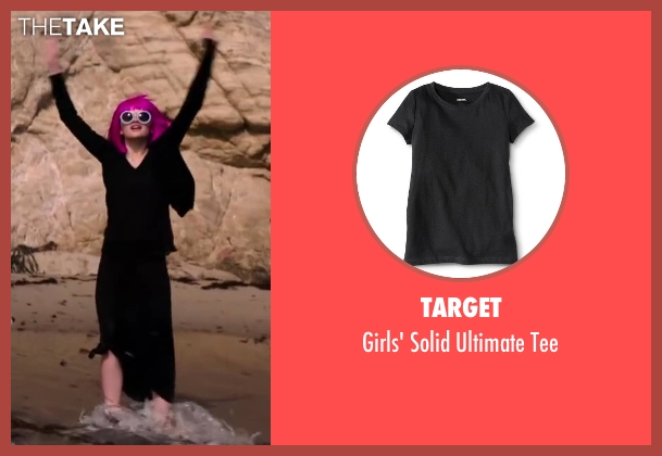 Target black tee from Wish I Was Here seen with Joey King (Grace)