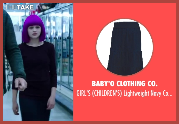 Baby'O Clothing Co. blue skirt from Wish I Was Here seen with Joey King (Grace)